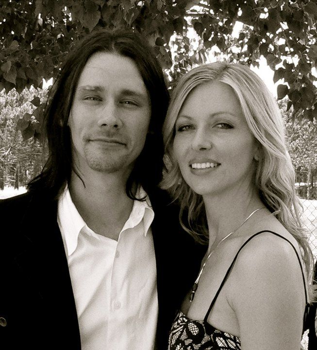 Myles Kennedy and Selena Frank