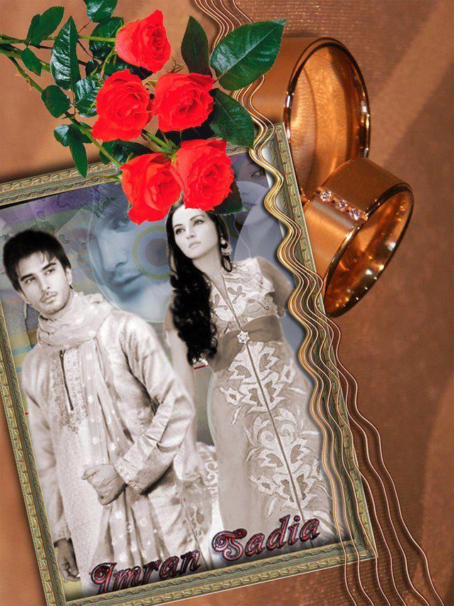 Imran Abbas and Sadia Khan Imran Abbas And Sadia Khan