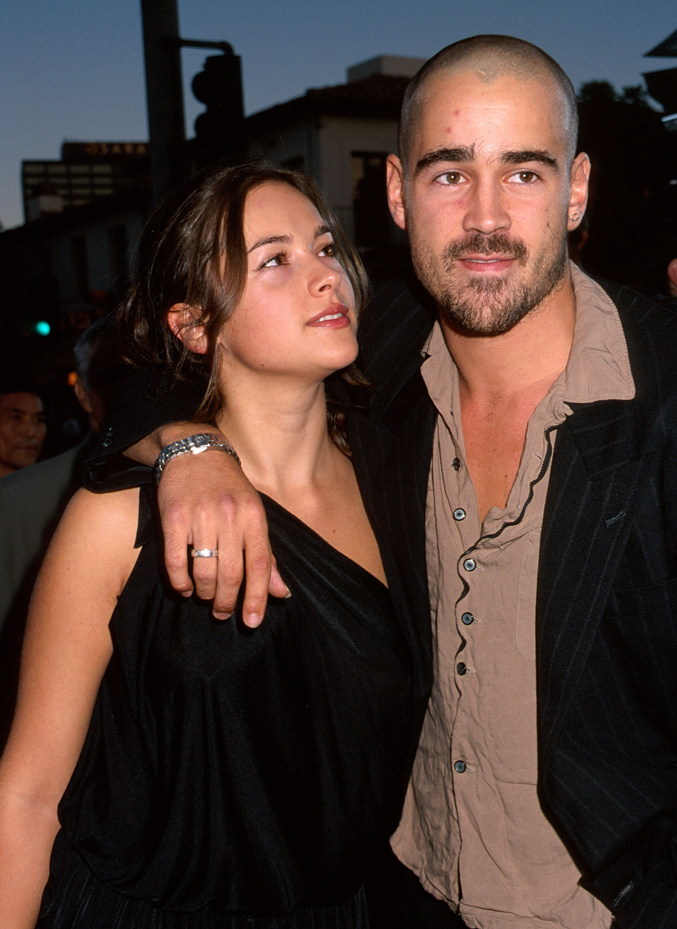 Amelia Warner and Colin Farrell